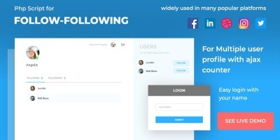 Facebook Social Network Clone v1 PHP Script