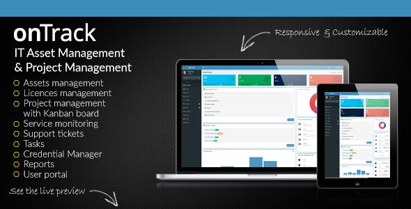 onTrack v1.16 – IT Asset Management & Project Management PHP Script