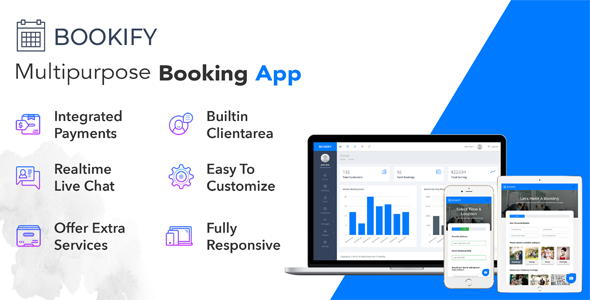 Bookify v1.4 – Multipurpose Booking App PHP Script