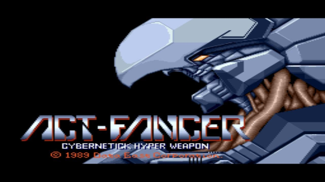 Act-Fancer Cybernetick Hyper Weap Windows Game Download
