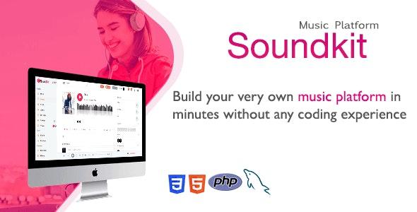 Soundkit v2.4.2 – Social Music Sharing Platform PHP Script