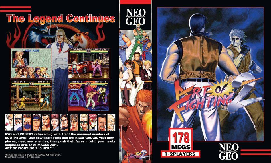 Art of Fighting 2 / Ryuuko no Ken Windows Game Download